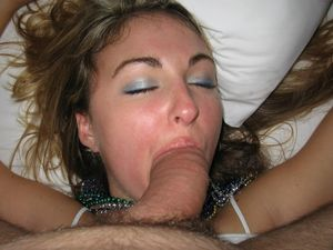 sleep blowjob