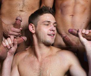 gay blowjob orgy