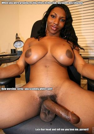 big cock black tranny