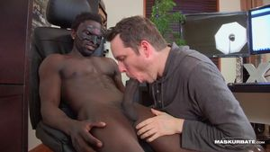 white men sucking big black cock