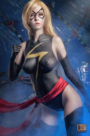 Marvel nude captain Brie Larson