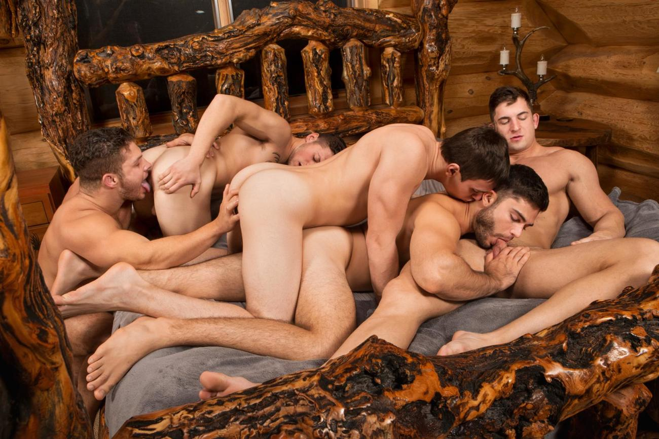 Free group sex gay male pics