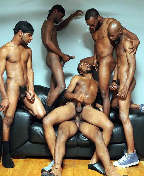 Gangbang gay black bareback xxx clips