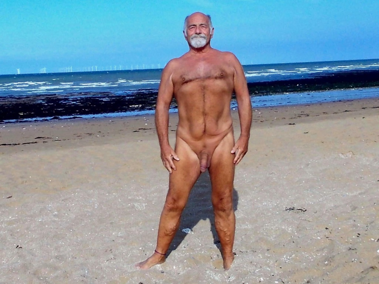 nudist guy in Kent: Foreness Point beach in Kent; Prince's W